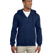 9.5 oz., 50/50 Super Sweats® NuBlend® Fleece Full-Zip Hood