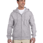 DryBlend® 9.3 oz., 50/50 Full-Zip Hood