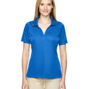 Eperformance™ Ladies' Propel Interlock Polo with Contrast Tape