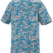 Youth Digi Camo Wicking Short-Sleeve T-Shirt