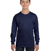 Youth 6.1 oz. Tagless® Long-Sleeve T-Shirt