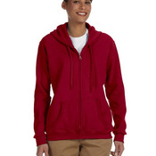 Ladies' Heavy Blend™ Ladies' 8 oz., 50/50 Full-Zip Hood