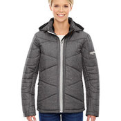 Ladies' Avant Tech Mélange Insulated Jacket with Heat Reflect Technology