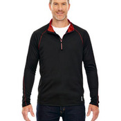 Men's Radar Quarter-Zip Performance Long-Sleeve Top